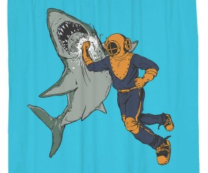 What's manlier than punching a shark in the f*cking face?