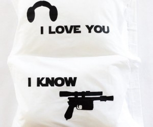 Star Wars I Love You I Know Pillowcases – What better way to tell your Han or Leia that you love them than with a beautiful set of pillow cases!