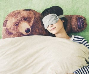 The bear hug pillow – Perfect for hibernating with.