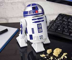 R2D2 Desk Vacuum - From the hard vacuum of space comes the helpful droid Artoo-detoo to vacuum up your mess