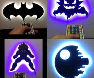 Remote Control LED Night Light Lamps
