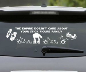 Star Wars Car Decal Shut Up And Take My Money - Star wars car decals