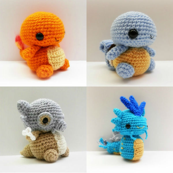 crochet chibi pokemon