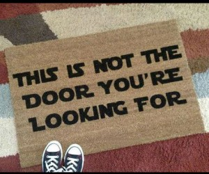 Great for keeping nosy neighbors and unwanted guests at bay!