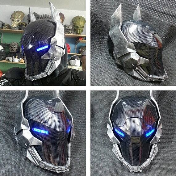 batman arkham knight helmet. Black Bedroom Furniture Sets. Home Design Ideas