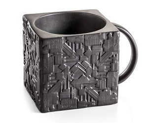 Star Trek Borg Cube Mug – Resistance is futile!