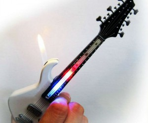Guitar LED Lighter – Jimi Hendrix inspired.