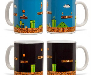 Mario Bros Heat Changing Mug! – You saved the Princess now time for a cup of coffee.