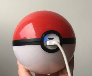 Pokeball Charger – Pikachu I choose you!… to charge my phone.