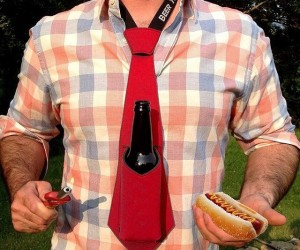 The Beer Tie – For when you have to be formal but still want to party!