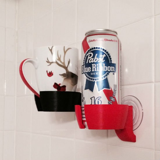 shower-beer-beverage-holder-3d-printed