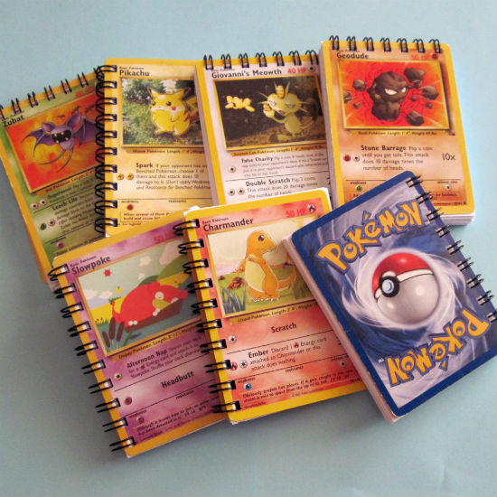 pokemon card notebook