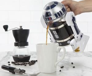 R2D2 Coffee Press – Beep bean bloop brew