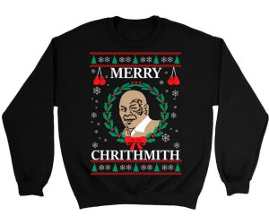 Mike Tyson Ugly Christmas Sweater – Merry Chrithmith from Mike Tython himthelf.