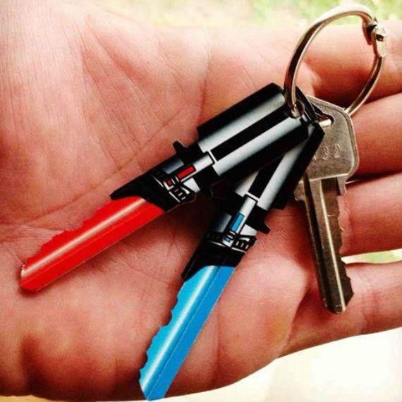 best-star-wars-products-lightsaber-keys