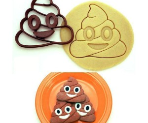 Poop emoji cookie cutters! – Telling someone to eat shit has never been more fun!