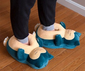 Snorlax Slippers – Block Route 16 in comfort