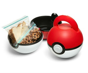 Pokeball Lunch Case – Eat like a trainer!