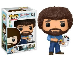 Bob Ross Funko Pop Figure – Straight from The Joy of Painting Bob Ross is here to help paint some happy little trees!