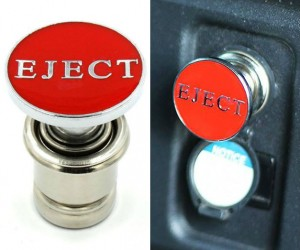 Cigarette Lighter Eject Button
