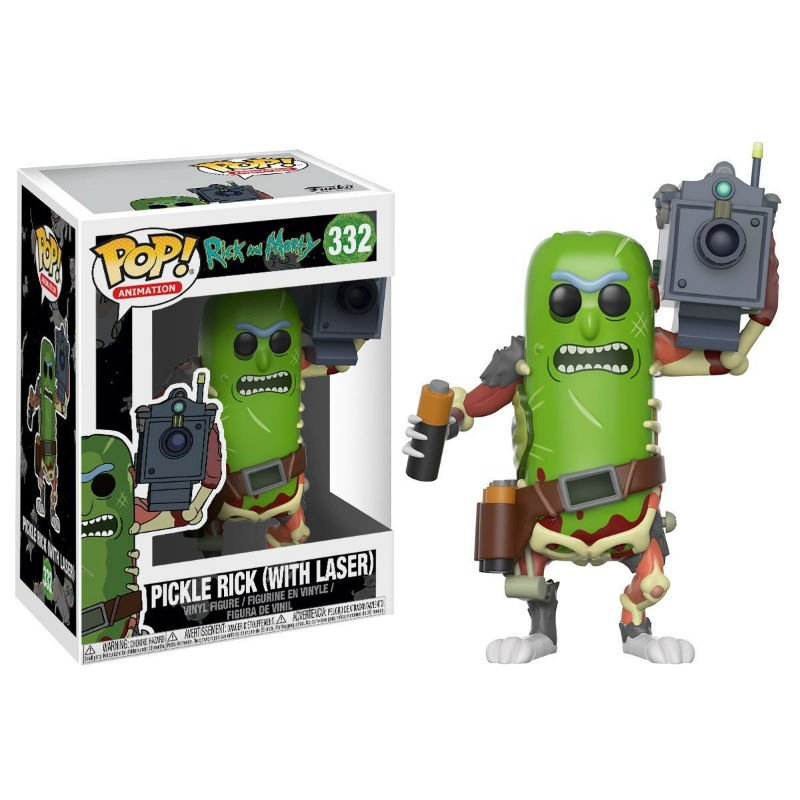 Pickle Rick Funko Pop | Shut Up And Take My Money