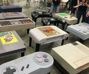 Video Game Coffee Tables!