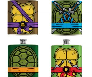 Teenage Mutant Ninja Turtle Flasks!