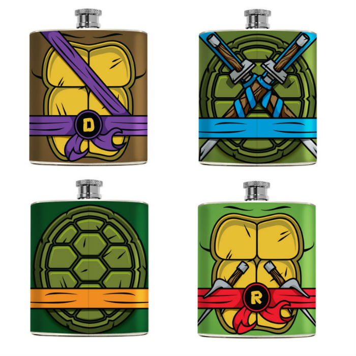 ninja turtles flask
