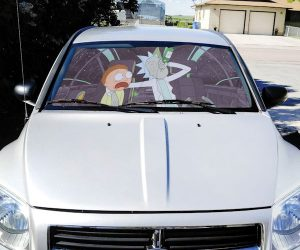 Rick & Morty Reversible Sunshade!