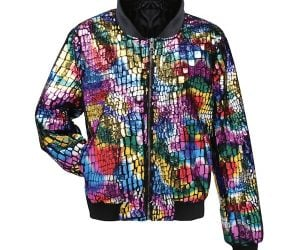 Multi-Colored Bomber Jacket