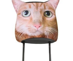 Animal Headrest Covers – Tabby Cat!