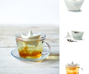 Paper boat tea infuser!