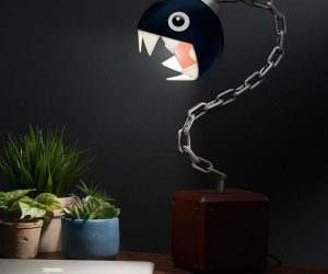 Mario Chain Chomp Lamp