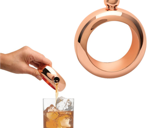 Rose Gold Flask Bracelet!