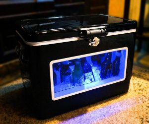 LED Party Cooler with Window!