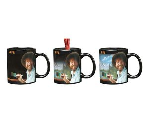 Bob Ross Heat Changing Mug!