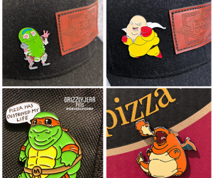 Chubby Character Pins!