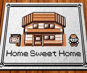Pokemon Home Sweet Home Doormat