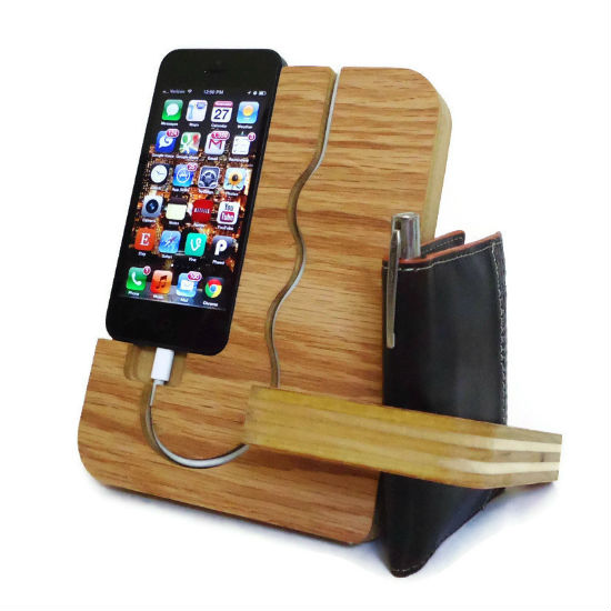 Wooden Iphone Docking Station Shut Up And Take My Money
